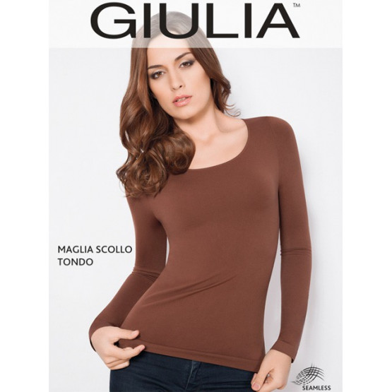 GIULIA Maglia Scollo Tonda M/L