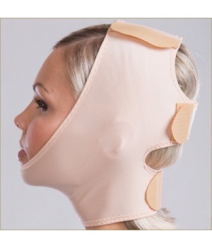 Маска-бандаж для лица, ШЕИ, подбородка с тремя липучками