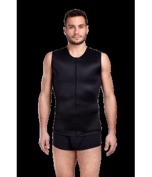Мужской корректирующий бандаж - корсет с компрессией  живота, груди, спины