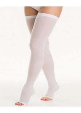 Чулки антиэмболические Ergoforma НА ОПЕРАЦИЮ с открытым носком, 2 класс, белые, 2 штуки