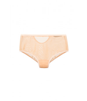 "PANTS BRIEFS LE JOURNAL INTIME ""MONROE"" HIGH-WAISTED BRIEFS (LATTE)"
