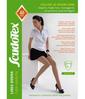 460 Колготки компрессионные Скудотекс , антиварикозные (7-9 mmHg) 40 den