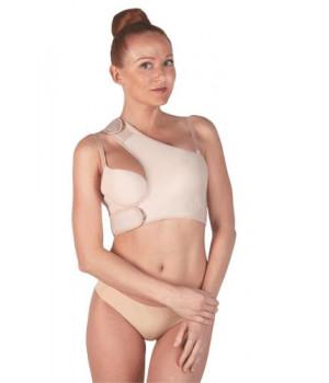 Повязка онкологическая бюстгальтер - лиф ПОСЛЕ МАСТЭКТОМИИ - белье компрессионное ПОСЛЕ УДАЛЕНИЯ одной груди