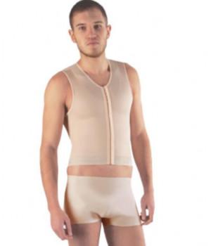 Бандаж корректирующий для мужчин для груди, живота, талии, спины